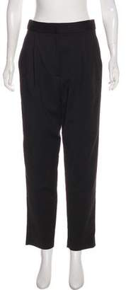 Tibi High-Rise Straight-Leg Pants w/ Tags