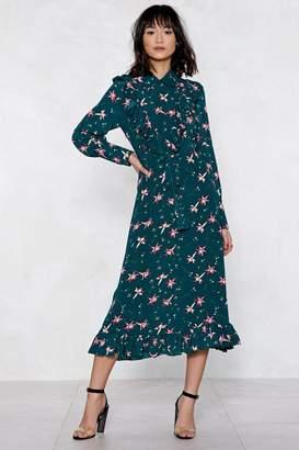 Nasty Gal You'll Grow a Long Way Floral Dress