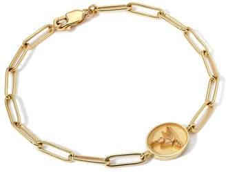 Retrouvaí Flying Pig Fantasy Link Bracelet - Yellow Gold