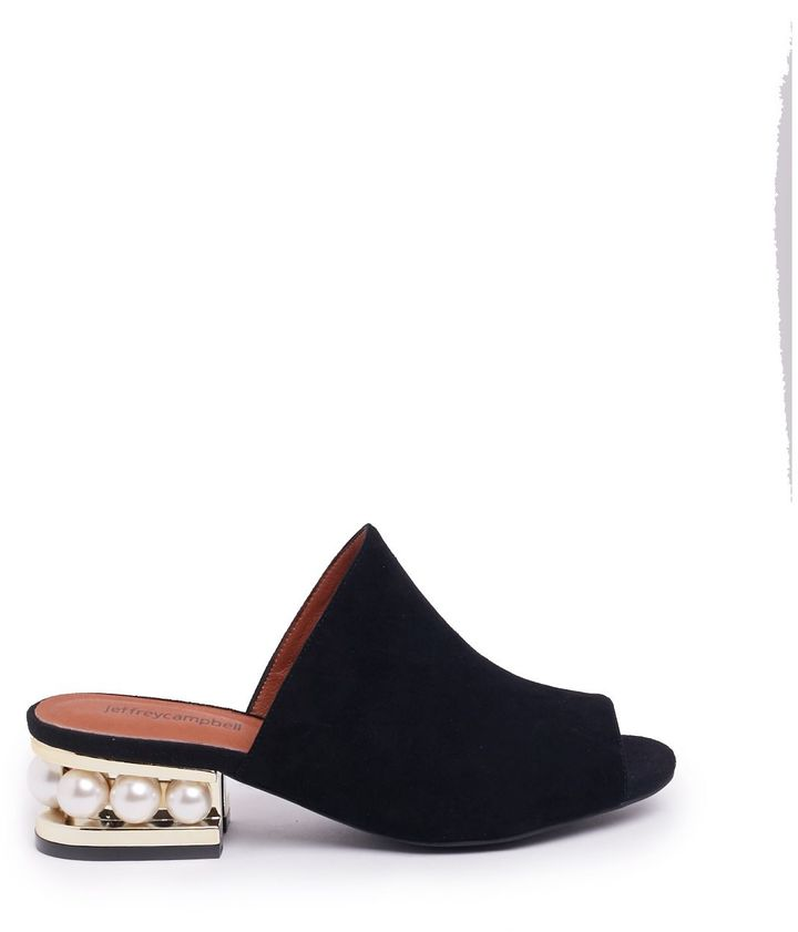 Jeffrey Campbell Jeffrey Campbell Pearl Embellished Mules
