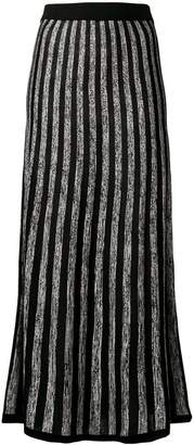 Sonia Rykiel long striped skirt