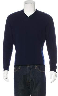 Lucien Pellat-Finet Cashmere V-Neck Sweater