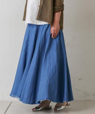 BEARDSLEY (ビアズリー) - ビアズリー リネンウエストジャージースカート