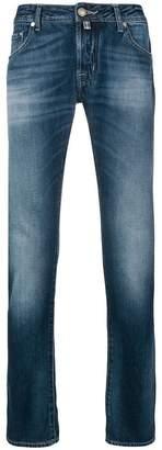 Jacob Cohen stonewashed straight jeans