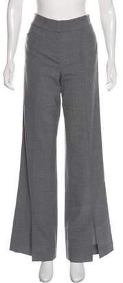 Halston High-Rise Wide-Leg Pants w/ Tags