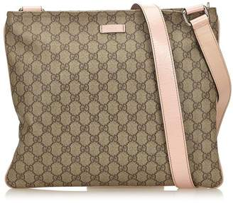 Gucci Vintage Guccissima Coated Canvas Crossbody Bag