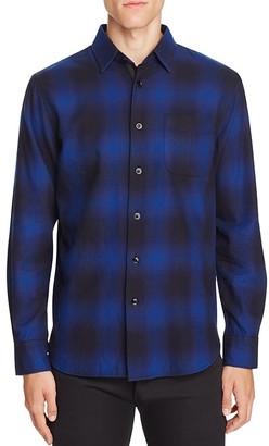 rag & bone Beach Plaid Slim Fit Button-Down Shirt $225 thestylecure.com