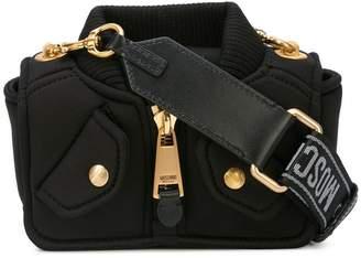 Moschino 'bomber jacket' mini bag
