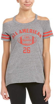 Chaser Cold-Shoulder Graphic T-Shirt