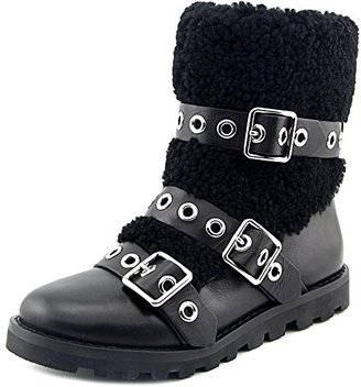 Marc by Marc Jacobs Women's Frost Three-Strap Shearling Boot $137.98 thestylecure.com