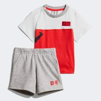 adidas (アディダス) - [MARVEL] スパイダーマン Tシャツ&ハーフパンツ 上下セット