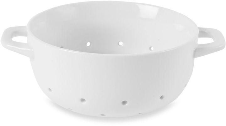 Everyday White® by Fitz and Floyd® Small Colander