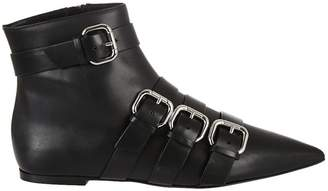 RED Valentino Buckle Ankle Boots