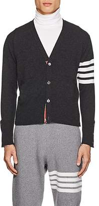 Thom Browne Men's Block-Striped Cashmere Cardigan