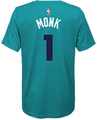 Nike Malik Monk Charlotte Hornets Icon Name & Number T-Shirt, Big Boys (8-20)
