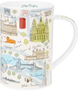 Harrods London Map Mug
