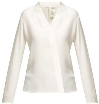 Goat Cici Silk Crepe De Chine Blouse - Womens - Cream