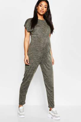 boohoo Maternity Cosy Lounge Jumpsuit