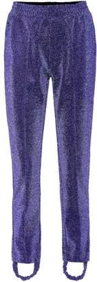 Golden Goose Dele metallic stirrup trousers