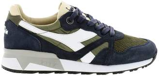 Diadora Heritage Sneakers Sneakers N9000 H S Sw In Leather, Nylon And Suede With Rubber Sole