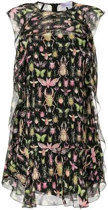RED Valentino bug print dress
