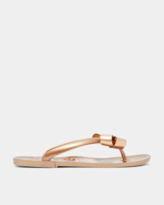 Ted Baker SUSZIEP Printed sole flip flop