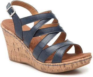 b.ø.c. Lynette Wedge Sandal - Women's