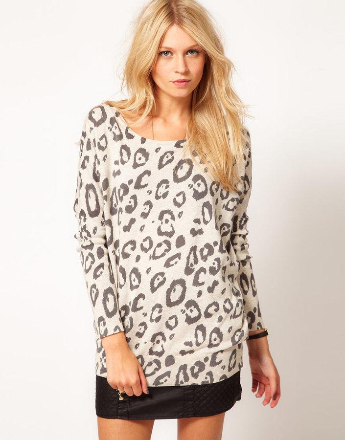 Oasis Oversize Animal Sweater