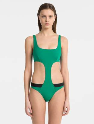 Calvin Klein intense power logo swimsuit