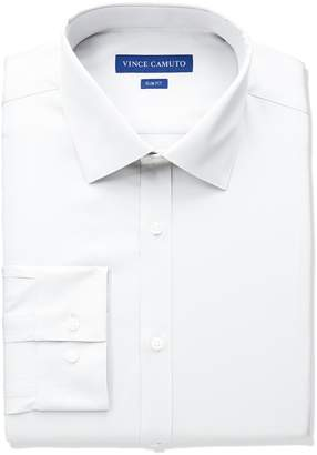 Vince Camuto Men's Slim Fit Sateen Dress Shirt