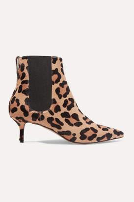 Francesco Russo Leopard-print Calf Hair Chelsea Boots - Leopard print