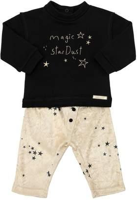 Magic Cotton Sweatshirt & Velvet Pants