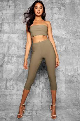 boohoo Tall Skinny Cropped Length Trousers