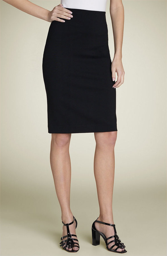 SoCa St. John Ponte Knit Pencil Skirt