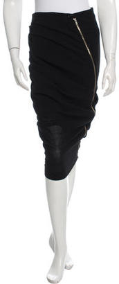 Boy. by Band of Outsiders Ruched Asymmetrical Skirt $85 thestylecure.com