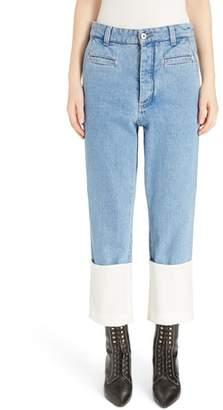 Loewe Fisherman Cuffed Jeans