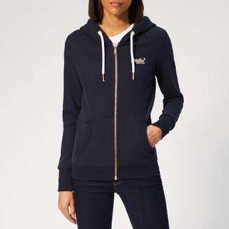 Superdry Women's Orange Label Elite Zip Hoody