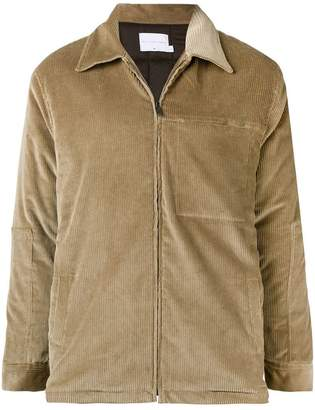 The Silted Company corduroy zipped jacket
