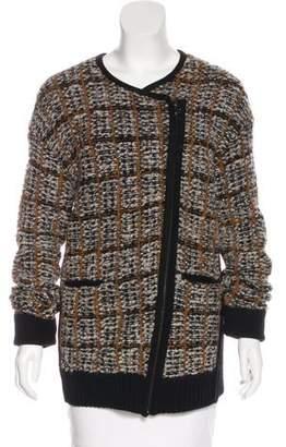 O'2nd Bouclé Zip-Up Sweater