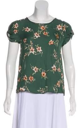 Joie Silk Short Sleeve Top