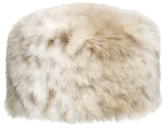 Johnston & Murphy Faux-Fur Pillbox Hat