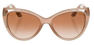 Versace Cat-Eye Gradient Sunglasses