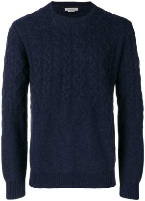 Corneliani patterned loose sweater