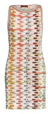 Missoni Sleeveless Knit Shift Dress