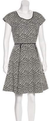 Rachel Zoe Printed Knee-Length Dress