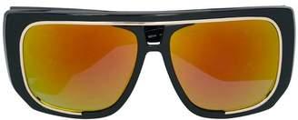 Moschino oversized sunglasses