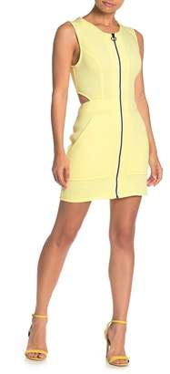 BCBGeneration Front Zip Knit Dress
