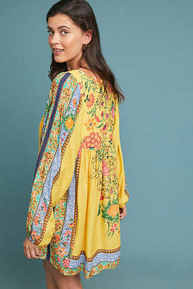 Farm Rio Lorena Patchwork Tunic Dress