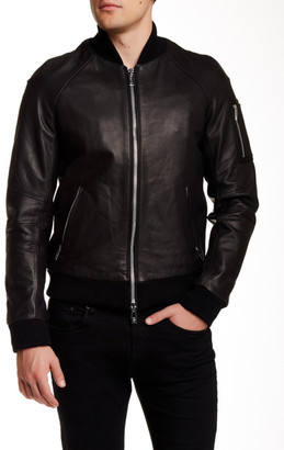 Rogue Genuine Leather Jacket $970 thestylecure.com