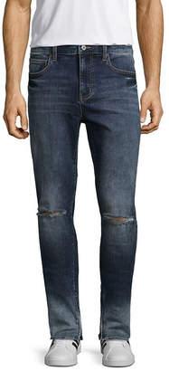 Arizona 360 Flex Taper Fit Zipper Ankle Jeans
